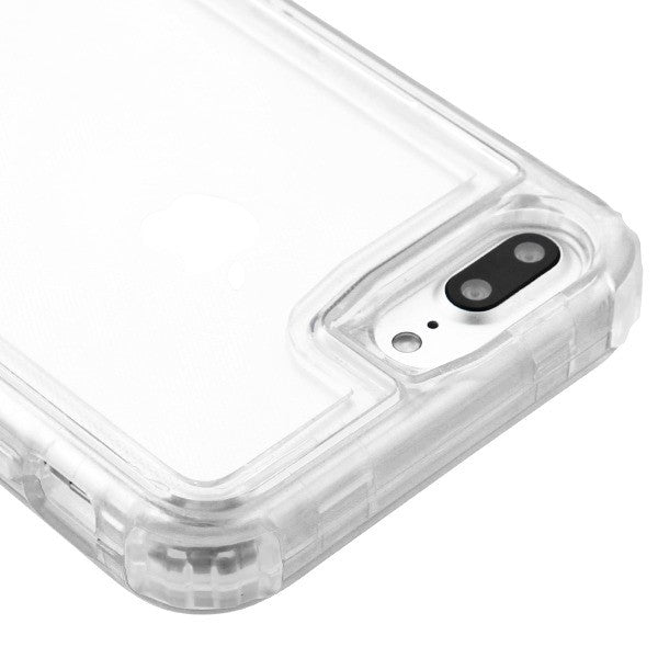 Hybrid Clear Case Iphone 6/7/8 Plus - Bling Cases.com