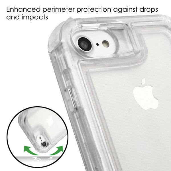 Hybrid Clear Case Iphone 6/7/8 - Bling Cases.com