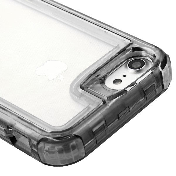 Hybrid Clear Smoke Case Iphone 6/7/8 - Bling Cases.com