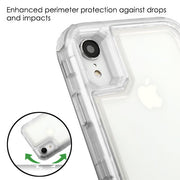 Clear Hybrid Case Iphone XR - Bling Cases.com