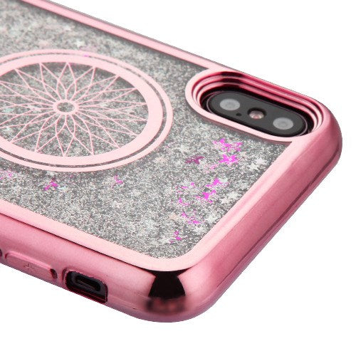 Dream Catcher Liquid Rose Gold Iphone XS MAX - Bling Cases.com