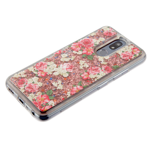 Liquid Roses Case LG K40 - Bling Cases.com