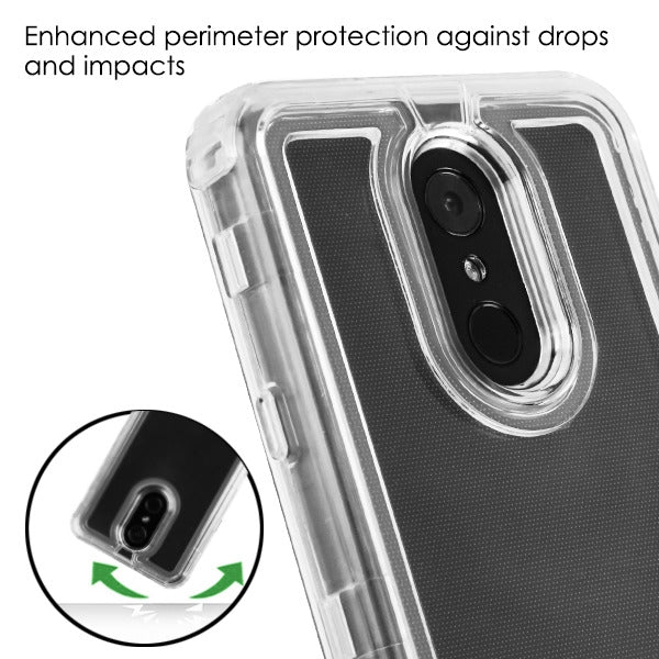 Hybrid Clear Case Lg Stylo 4 - Bling Cases.com