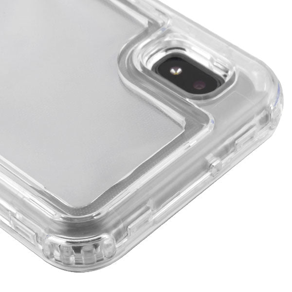 Hybrid Clear Case Samsung A10E - Bling Cases.com