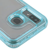 Hybrid Clear Blue Case Samsung A20/A50 - Bling Cases.com