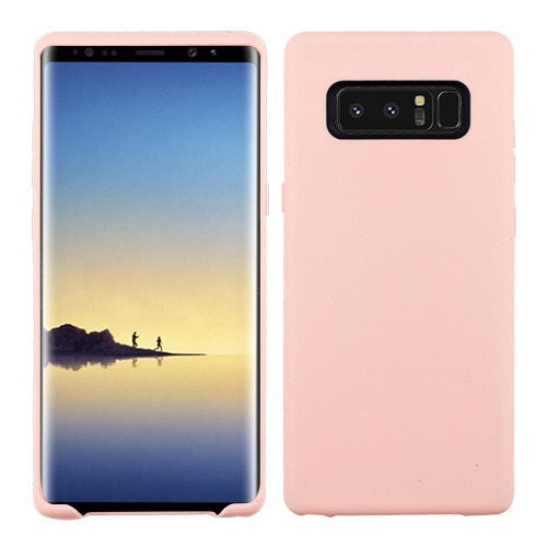 Soft Silicone Skin Baby Pink Samsung Note 8 - Bling Cases.com