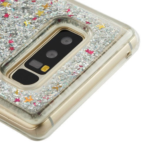 Liquid Silver Case Samsung Note 8 - Bling Cases.com