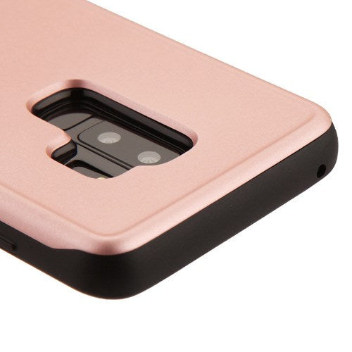 Card Case Rose Gold Samsung S9 Plus - Bling Cases.com