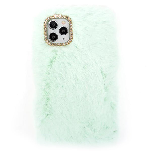 Fur Teal Blue Case Iphone 11 Pro Max