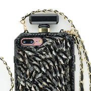 Bling Bottle Stones Black Case Iphone 7/8 Plus - Bling Cases.com