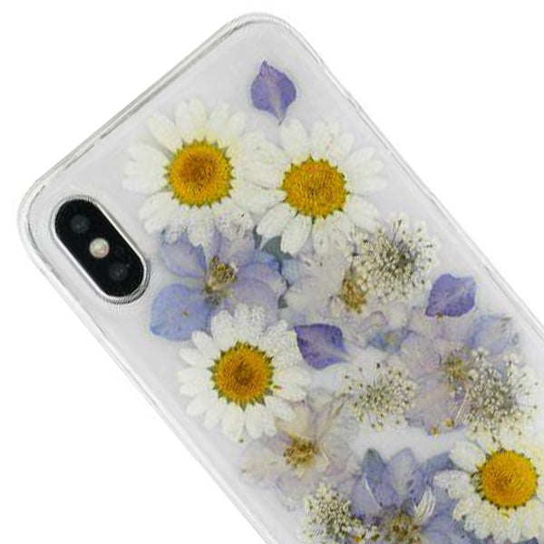 Real Flowers Purple Case Iphone 10/X/XS