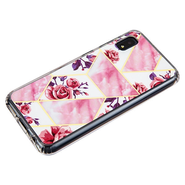 Marble Roses Case Samsung A10E - Bling Cases.com