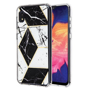Marble Black White Case Samsung A10E - Bling Cases.com