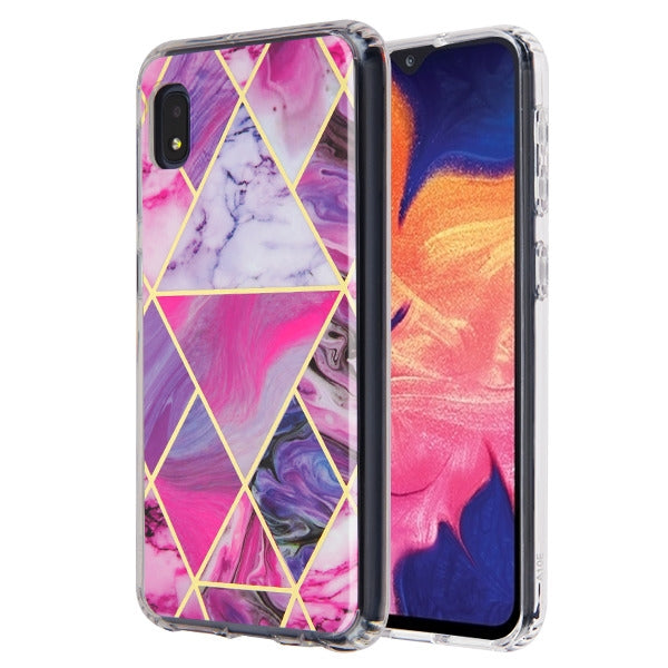 Marble Purple Case Samsung A10E - Bling Cases.com