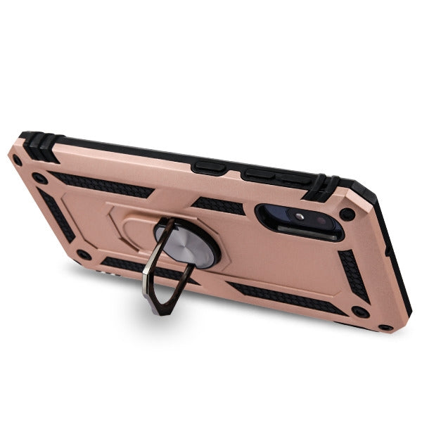 Hybrid Ring Case Rose Gold Samsung A10E - Bling Cases.com