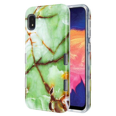 Marble Green Case Samsung A10E - Bling Cases.com