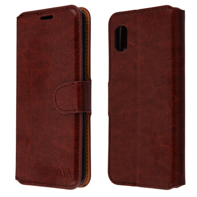 Wallet Brown Samsung A10E - Bling Cases.com