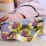 Sunflowers Handle Case Samsung A20/A50 - Bling Cases.com
