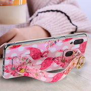 Flamingos Pink Handle Case Samsung A20/50 - Bling Cases.com