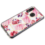 Marble Pink Roses Case Samsung A20/A50 - Bling Cases.com