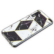 Marble Black White Case Samsung A20/A50 - Bling Cases.com