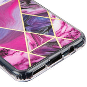 Marble Purple Case Samsung A20/A50 - Bling Cases.com