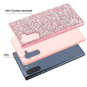 Hybrid Bling Pink Case Samsung Note 10 - Bling Cases.com