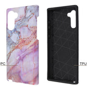 Marble Peach Purple Case Samsung Note 10 - Bling Cases.com