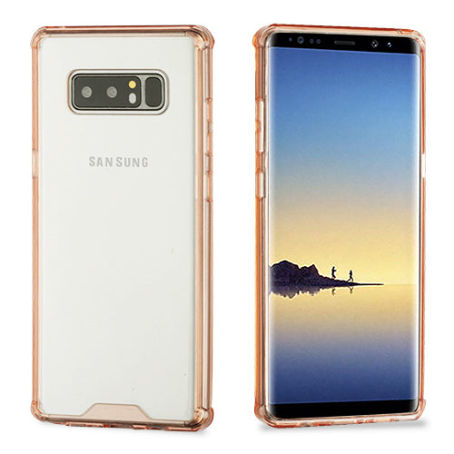 Clear Rose Gold Skin Samsung Note 8 - Bling Cases.com