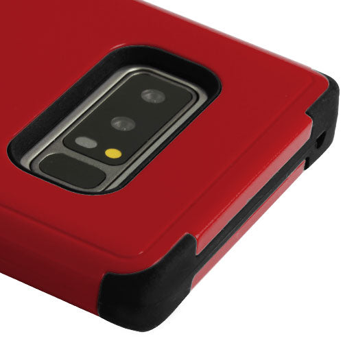 Military Grade Red Kickstand Case Samsung Note 8 - Bling Cases.com