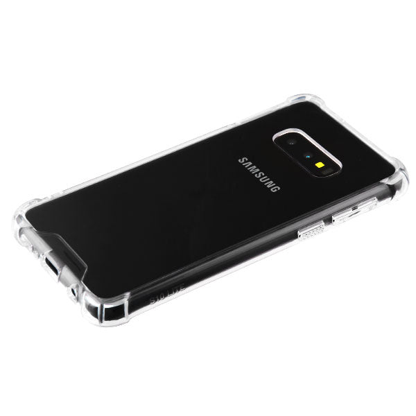 Clear Corner Bumpers Skin Samsung S10E - Bling Cases.com