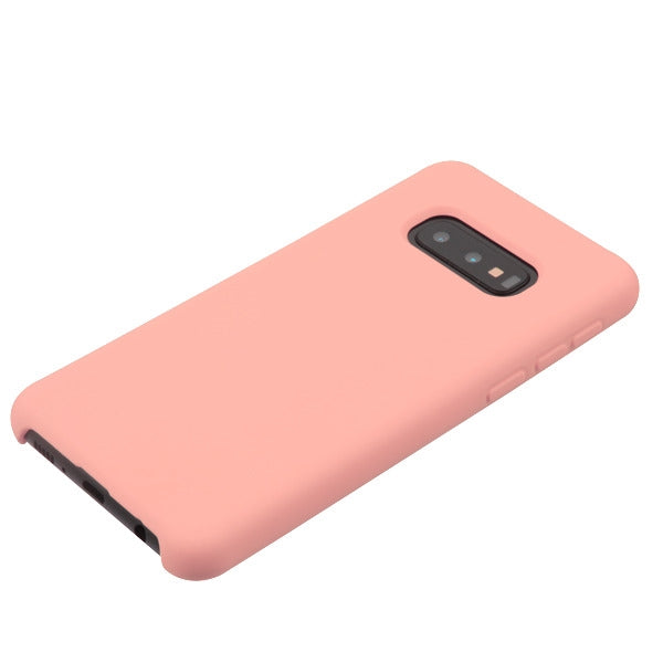 Silicone Skin Baby Pink Samsung S10E - Bling Cases.com