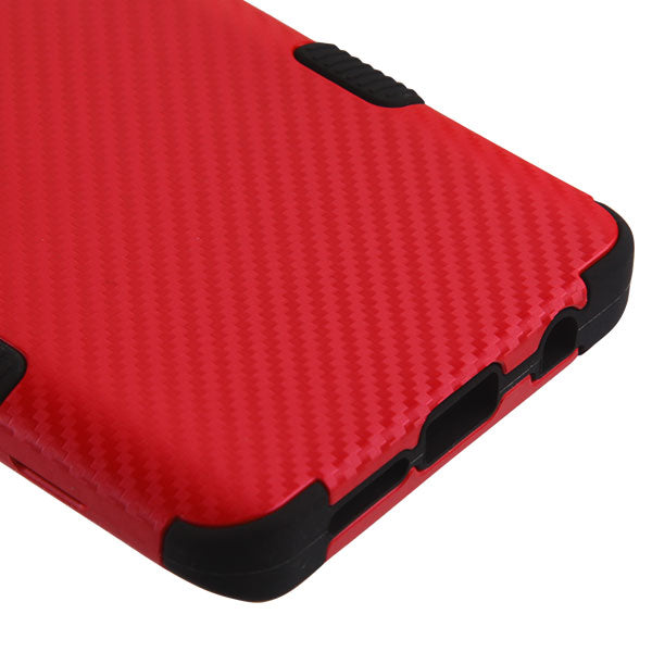 Military Grade Red Carbon Case Samsung S10 - Bling Cases.com