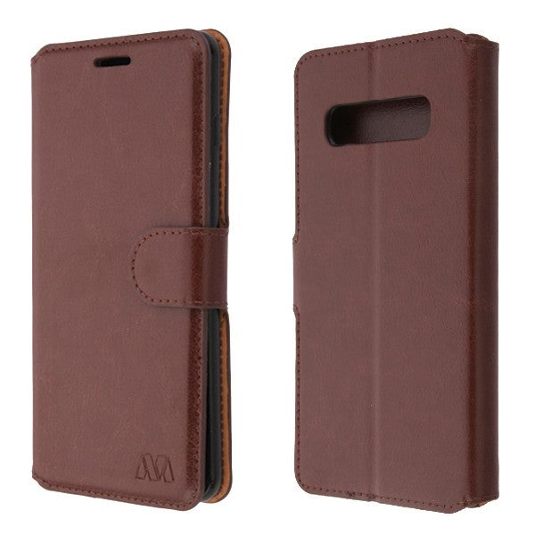 Wallet Brown Samsung S10 Plus - Bling Cases.com