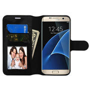 Wallet Black Samsung S7 Edge - Bling Cases.com