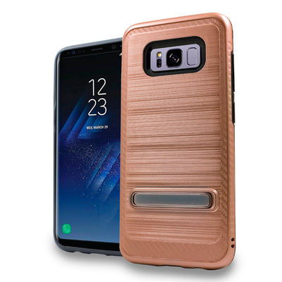 Kickstand Case Rose Gold Samsung S8 Plus - Bling Cases.com