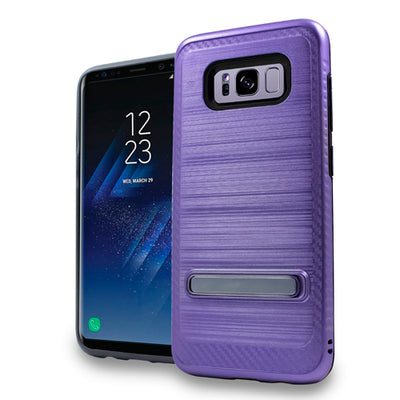 Kickstand Case Purple Samsung S8 Plus - Bling Cases.com