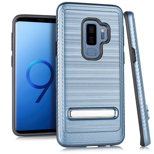 Kickstand Case Blue S9 Plus - Bling Cases.com
