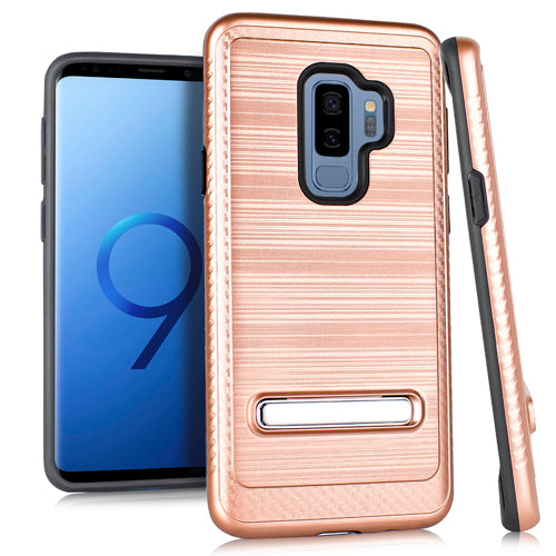 Kickstand Case Rose Gold S9 Plus - Bling Cases.com