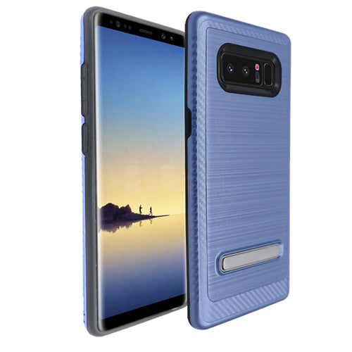 Kickstand Case Blue Case Samsung Note 8 - Bling Cases.com