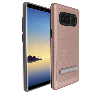 Kickstand Rose Gold Case Samsung Note 8 - Bling Cases.com