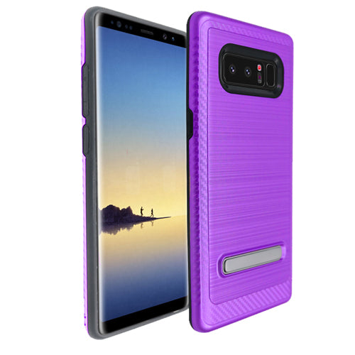 Kickstand Purple Case Samsung Note 8 - Bling Cases.com