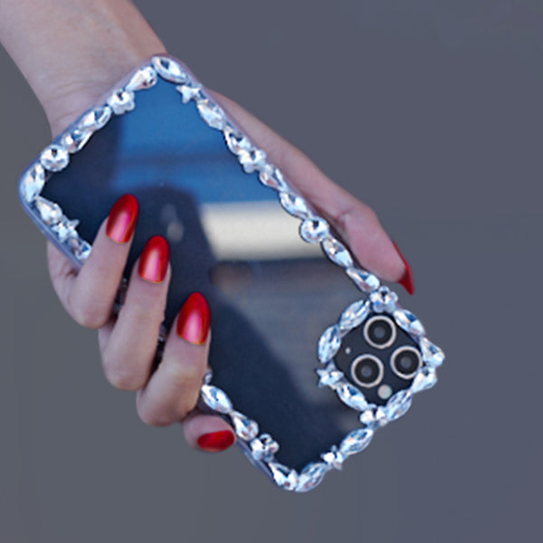 Silver Edge Bling Case Iphone 11 Pro