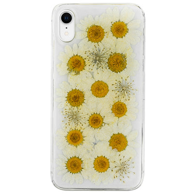 Real Flowers White Case Iphone XR