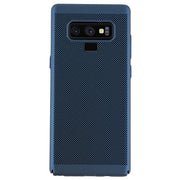Super Thin Rubberized Blue Case Note 9