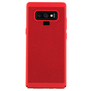 Super Thin Rubberized Red Case Note 9
