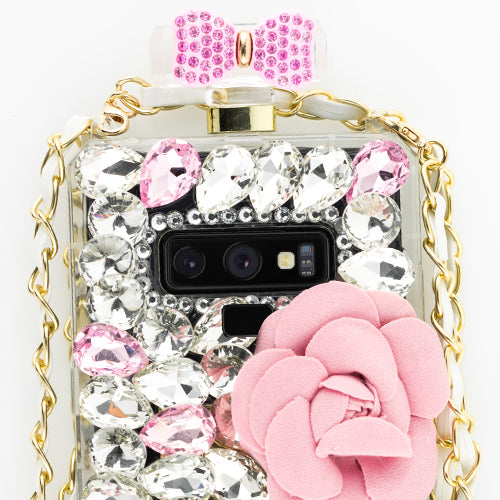 Handmade Flower Bling Case Note 9