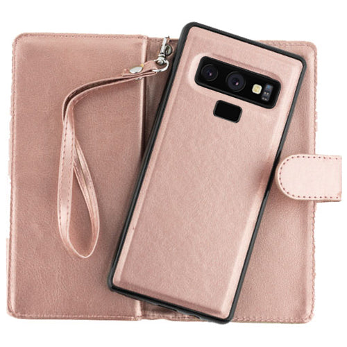 Detachable Wallet Rose Gold Note 9