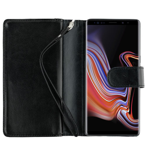Fur Grey Wallet Detachable Note 9