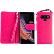 Detachable Wallet Hot Pink Note 9